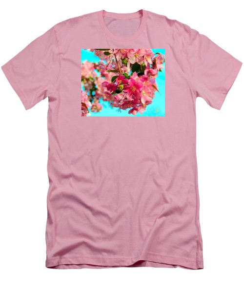 Blossoms And Bees Men's T-Shirt (Athletic Fit)