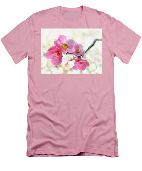 Men's T-Shirt (Slim Fit) featuring the photograph Blossoms by Marion Cullen