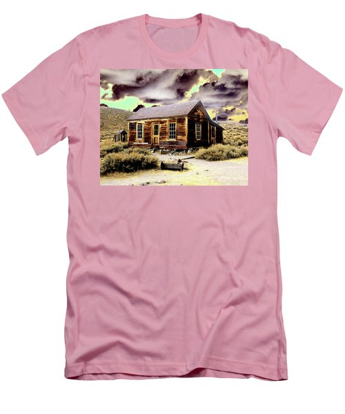 Men's T-Shirt (Slim Fit) featuring the photograph Bodie House by Jim and Emily Bush