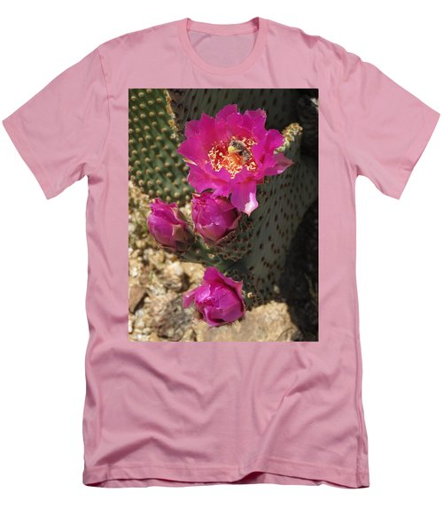 Borrego Springs Bloom 6 Men's T-Shirt (Athletic Fit)