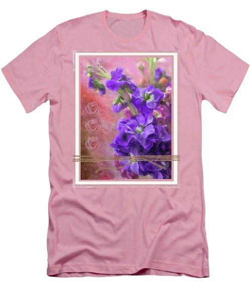 Bouquet Of Hearts Men's T-Shirt (Athletic Fit)