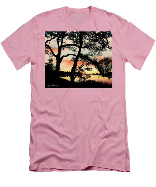 Break Of Dawn Men's T-Shirt (Slim Fit) by Tim Fitzharris