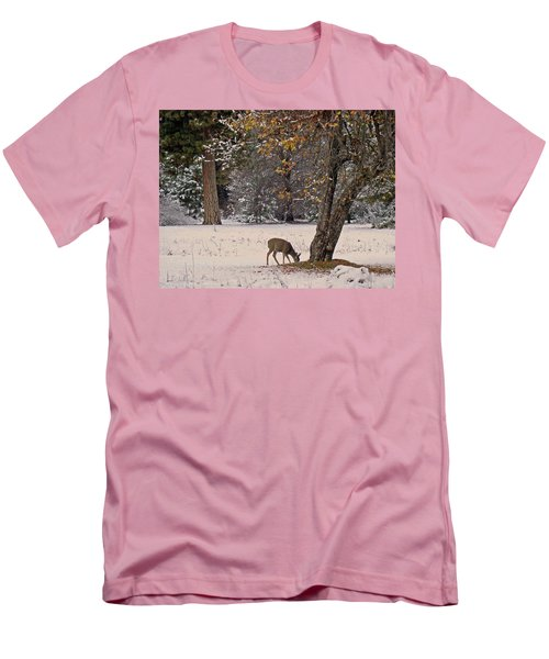 Men's T-Shirt (Athletic Fit) featuring the photograph Breakfast Time by Walter Fahmy