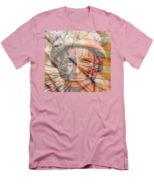 Breaking The Glass Ceiling Men's T-Shirt (Slim Fit) by Mary Ward