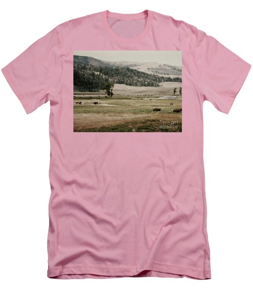 Buffalo Roam Men's T-Shirt (Athletic Fit)