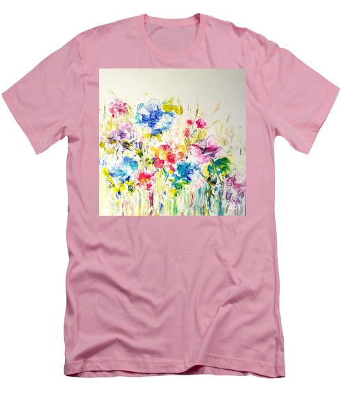 Burst Of Spring  Men's T-Shirt (Athletic Fit)