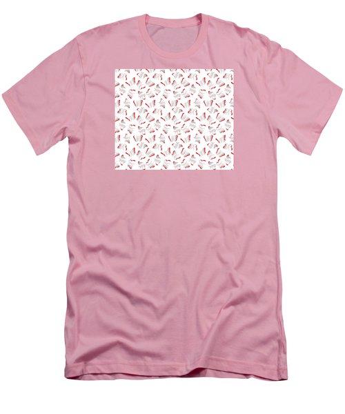 Men's T-Shirt (Slim Fit) featuring the photograph Butterflies by Gary Crockett