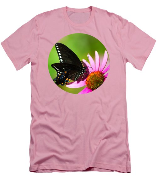 Butterfly In The Sun Men's T-Shirt (Slim Fit) by Christina Rollo