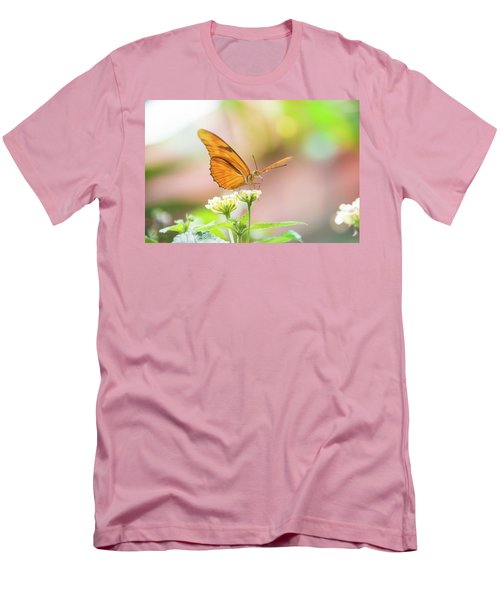 Butterfly - Julie Heliconian Men's T-Shirt (Athletic Fit)
