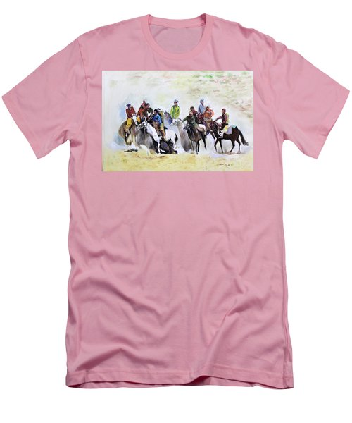 Buzkashi Sport Men's T-Shirt (Athletic Fit)