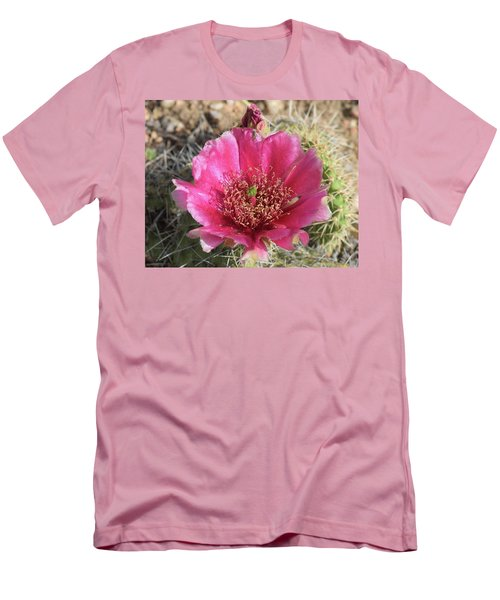 Cactus Flower Men's T-Shirt (Athletic Fit)