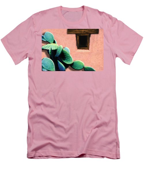 Cactus Men's T-Shirt (Slim Fit) by Paul Wear
