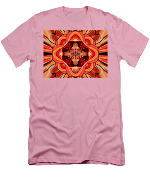 Candle Inspired #1173-4 Men's T-Shirt (Slim Fit) by Barbara Tristan