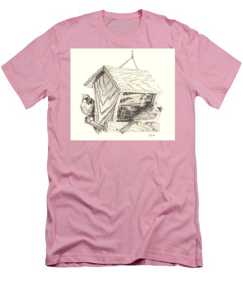 Cardinal Feeder Men's T-Shirt (Athletic Fit)
