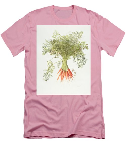 Carrots Men's T-Shirt (Slim Fit) by Margaret Ann Eden