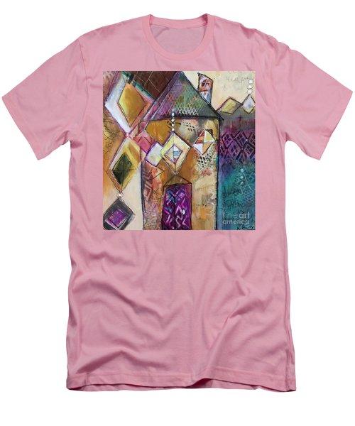 Castle Tower Men's T-Shirt (Athletic Fit)