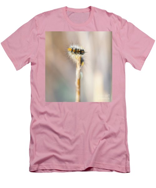 Caterpillar On The Stick Men's T-Shirt (Athletic Fit)