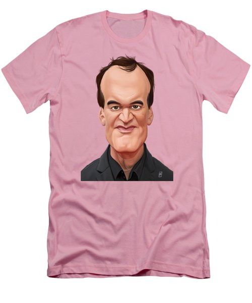 Celebrity Sunday - Quentin Tarantino Men's T-Shirt (Athletic Fit)