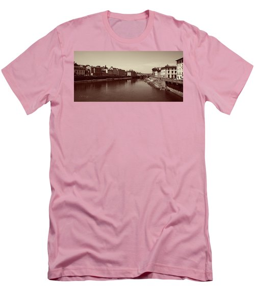 Chocolate Florence Men's T-Shirt (Slim Fit) by Joseph Westrupp