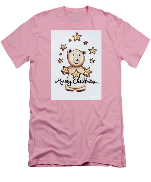 Christmas Stars Men's T-Shirt (Athletic Fit)