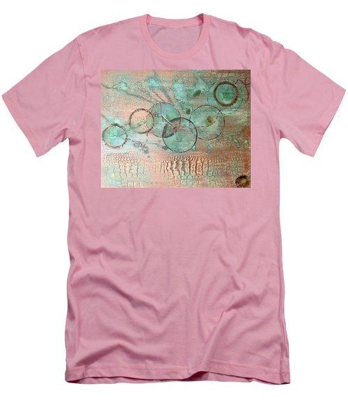 Circumnavigate Men's T-Shirt (Slim Fit) by T Fry-Green