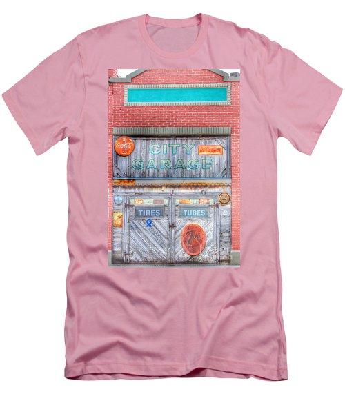 City Garage Men's T-Shirt (Slim Fit) by Toma Caul