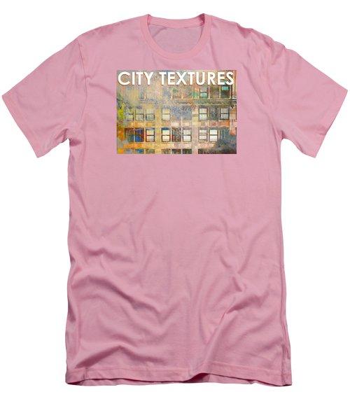 City Textures Windows Men's T-Shirt (Slim Fit) by John Fish