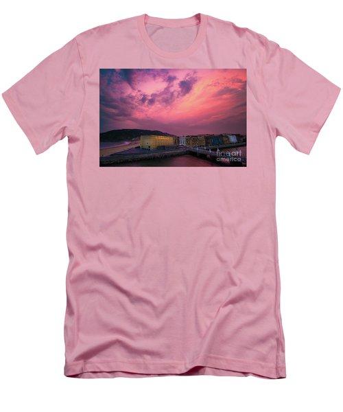 Cloudy  Men's T-Shirt (Slim Fit) by Mariusz Czajkowski