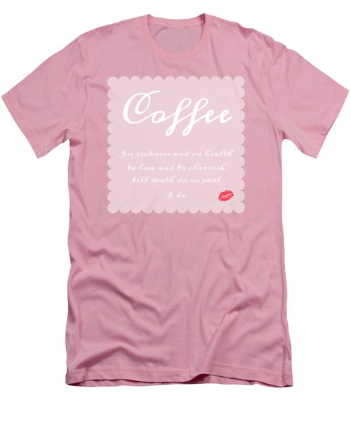 Coffee I Do Men's T-Shirt (Athletic Fit)