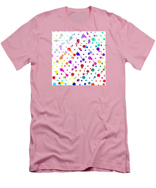 Color Cells Men's T-Shirt (Athletic Fit)