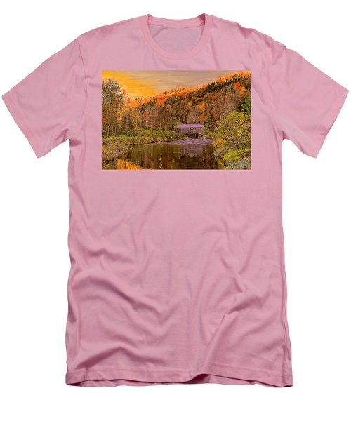 Comstock Bridge Men's T-Shirt (Athletic Fit)