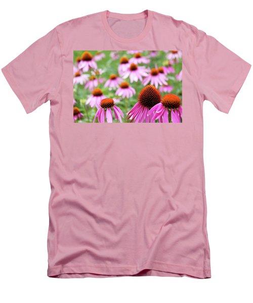 Coneflowers Men's T-Shirt (Slim Fit)