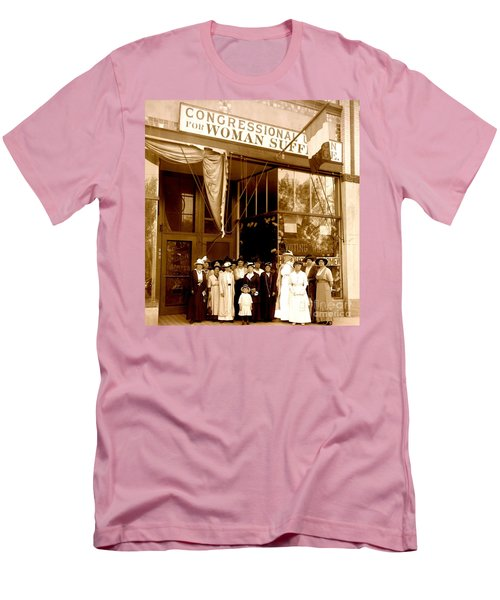 Congressional Union For Woman Suffrage Colorado Headquarters 1914 Men's T-Shirt (Athletic Fit)