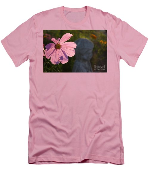 Men's T-Shirt (Slim Fit) featuring the photograph Contemplating The Cosmo by Brian Boyle