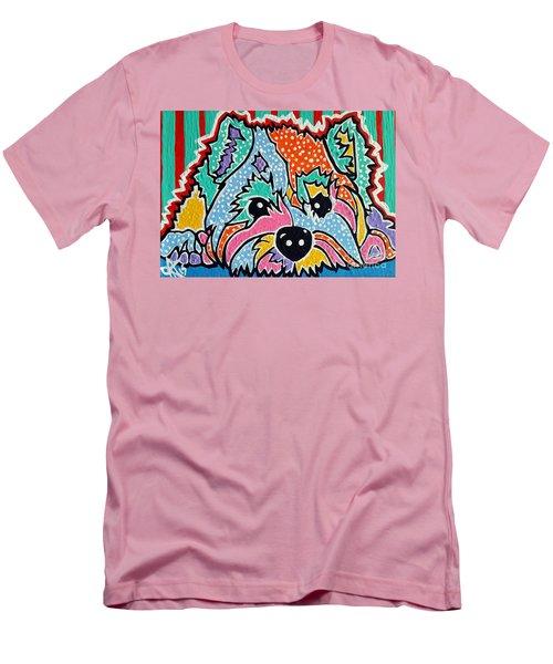 Cotton Candy Men's T-Shirt (Slim Fit) by Jackie Carpenter