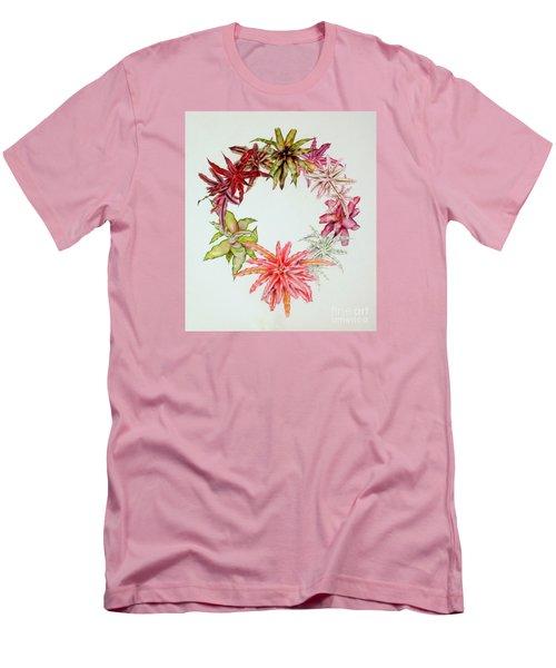 Cryptanthus Wreath Men's T-Shirt (Athletic Fit)