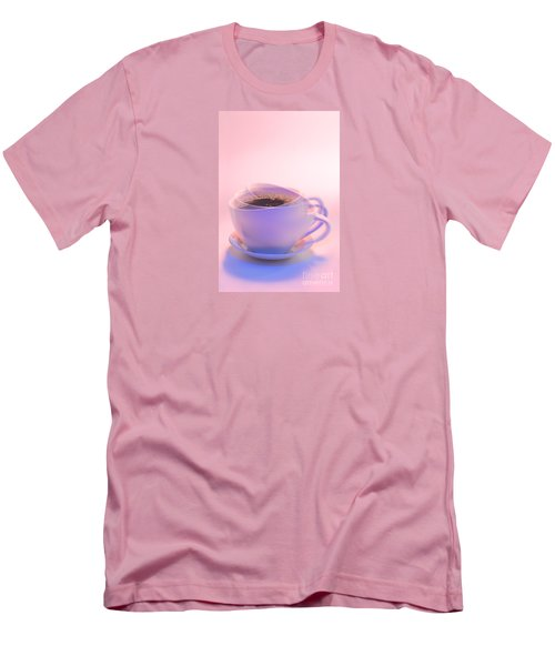 Cup Of Coffee Men's T-Shirt (Slim Fit) by George Robinson