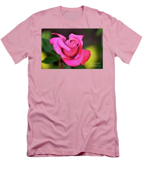 Men's T-Shirt (Slim Fit) featuring the photograph Curled Beauty by Debby Pueschel