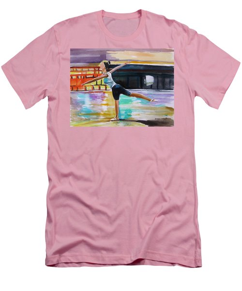 Men's T-Shirt (Slim Fit) featuring the painting Dance Class by John Williams