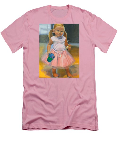 Dancer With Sippy Cup Men's T-Shirt (Slim Fit) by Kaytee Esser