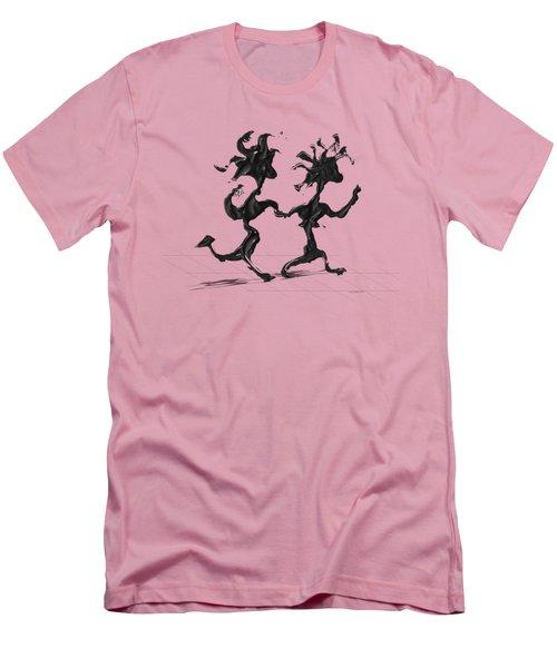 Dancing Couple 7 Men's T-Shirt (Athletic Fit)