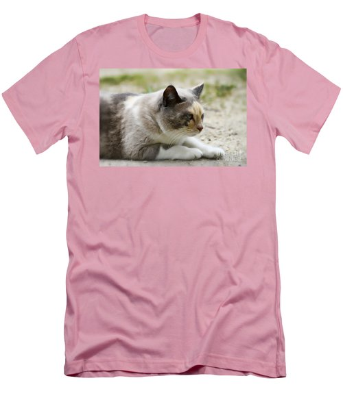 Men's T-Shirt (Slim Fit) featuring the photograph Danni Girl 2 by Teresa Zieba