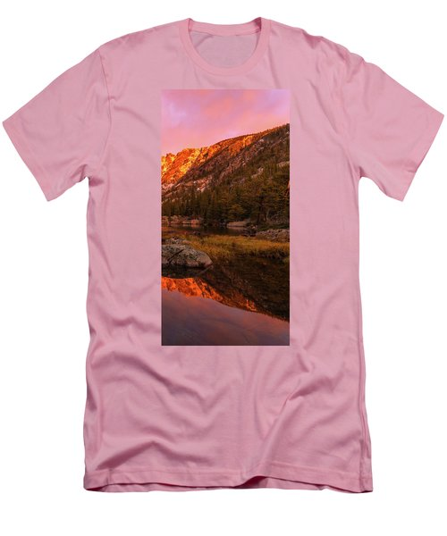 Men's T-Shirt (Athletic Fit) featuring the photograph Dawn Of Dreams Triptych Right by Dustin LeFevre