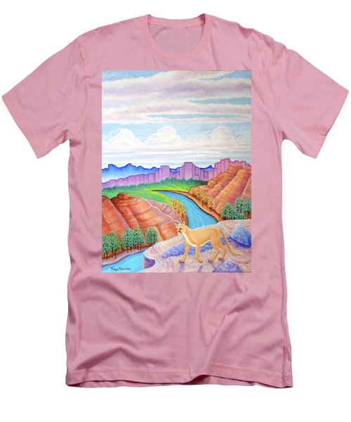 Dawn Patrol Men's T-Shirt (Slim Fit) by Tracy Dennison