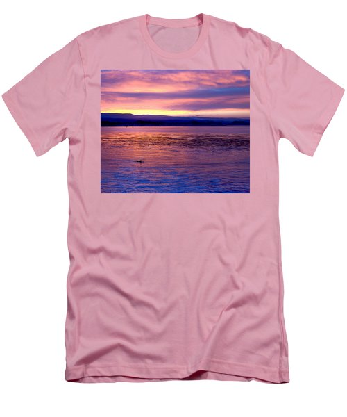 Dawn Patrol Men's T-Shirt (Slim Fit) by Lora Lee Chapman