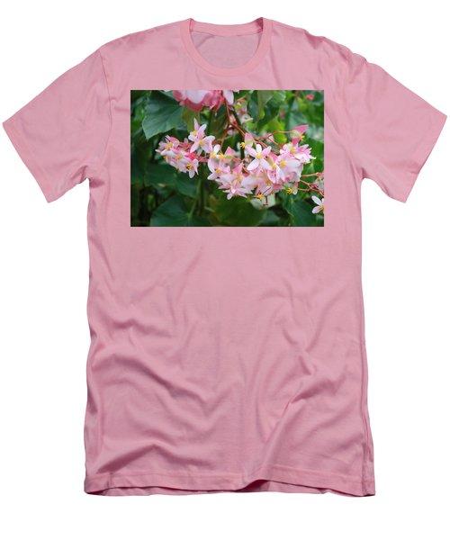 Delicate Flowers Men's T-Shirt (Athletic Fit)