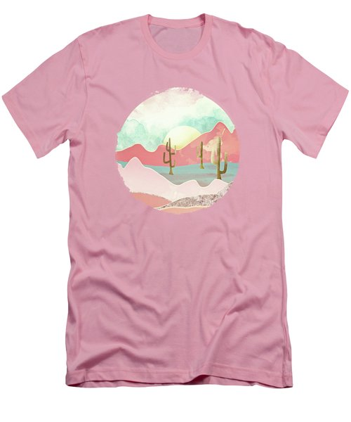 Desert Mountains Men's T-Shirt (Slim Fit) by Spacefrog Designs