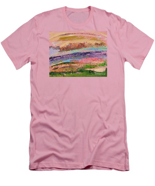Desert Spring Men's T-Shirt (Athletic Fit)