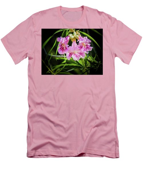 Desert Willow Men's T-Shirt (Slim Fit) by Penny Lisowski