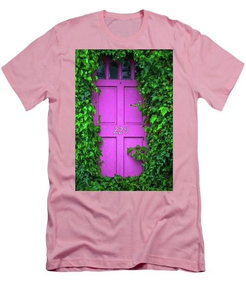 Door 229 Men's T-Shirt (Slim Fit) by Darren White